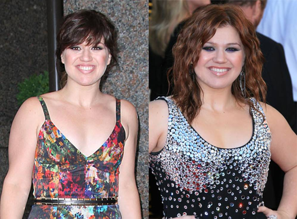 Kelly Clarkson Before and After
